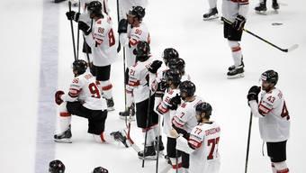 Den Schweizern ist die Enttäuschung nach dem Viertelfinal-Aus deutlich anzusehen.