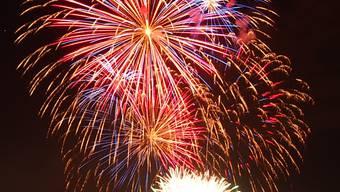 1. August-Feuerwerk Olten 2013