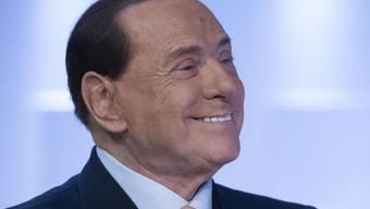 Chirurgischer Eingriff gut verlaufen: Italiens Ex-Ministerpräsident Silvio Berlusconi (82) musste wegen eines Leistenbruchs ins Spital. (Archivbild)