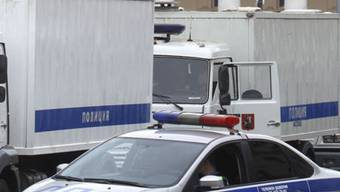 Polizeifahrzeuge in Russland (Archiv)