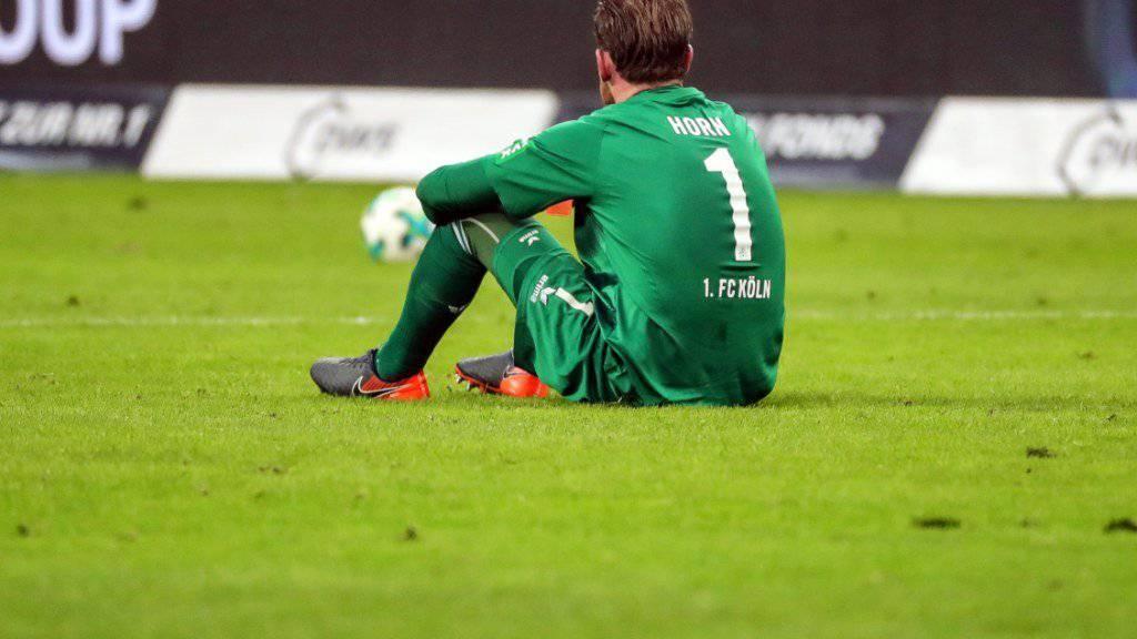 Schiessbudenfigur der Bundesliga: Kölns Goalie Timo Horn