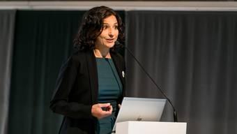 Die Aargauer SP unter Präsidentin Gabriela Suter will Menschen mit zu tiefen Prämienverbilligungen auf dem Gerichtsweg zu höheren Beträgen verhelfen.