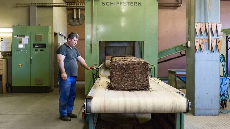 Impressionen aus der Zigarrenfabrik Villiger in Pfeffikon LU. (Mai 2017)