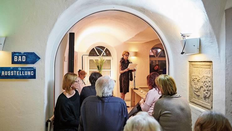 Die Lesung der literarischen Gesellschaft Baden fand im «Bad zum Raben» statt.