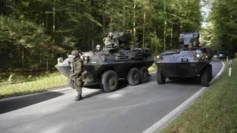 Übung der Armee «Congresso 18»