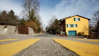 An der Schöneggstrasse ist Tempo30 vorgesehen – gemäss gestrigem Entscheid wird daraus aber nichts. bar