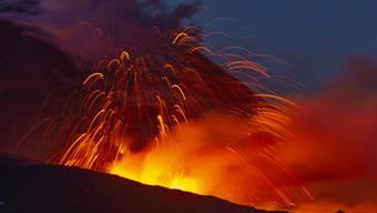 Vulkanausbruch Ätna (31. Mai 2019).