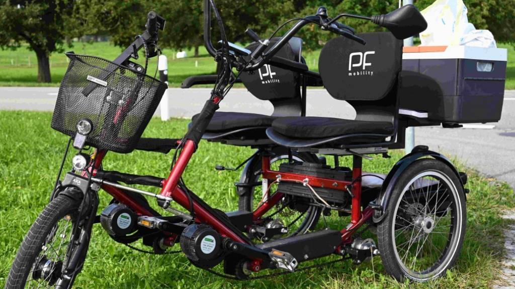 Kopfverletzung bei Unfall mit Elektro-Dreirad