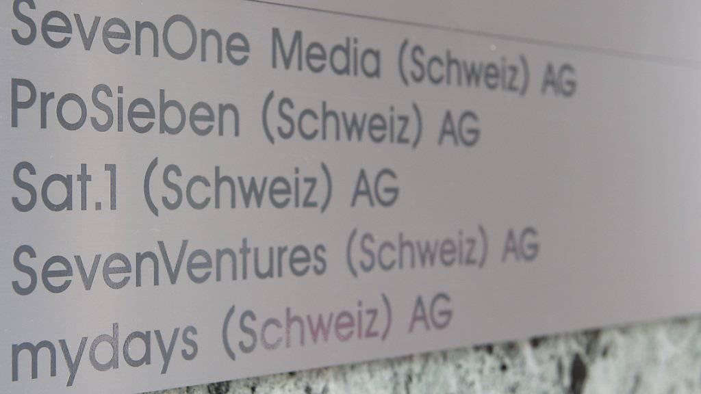 Die TV-Gruppe ProsiebenSat.1 sendet künftig auch Schweizer Produktionen. (Archiv-Bild)