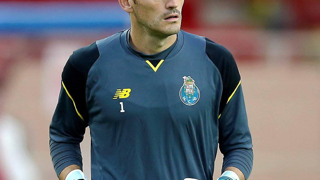 Iker Casillas im Dress des FC Porto (Archivbild)