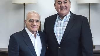 Der 76-jährige Oscarpreisträger Martin Scorsese (links) freut sich über die geplante Weltpremiere seines neuesten Werkes in New York. (Archivbild)