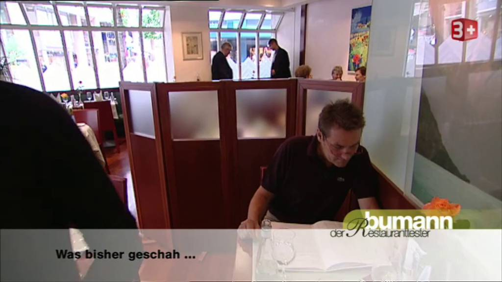Bumann, der Restauranttester City Hotel