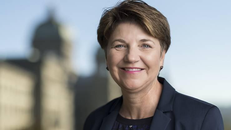Häufiger in den Schlagzeilen als die anderen Bundesratsanwärter: Die Walliser CVP-Nationalrätin Viola Amherd. (Archivbild)