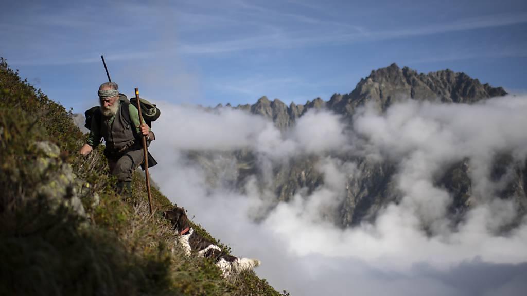 Am Donnerstag beginnt die Bündner Hochjagd, die grösste Jagdveranstaltung der Schweiz, an der etwa 5500 Jäger und einige Jägerinnen teilnehmen (Archivbild).
