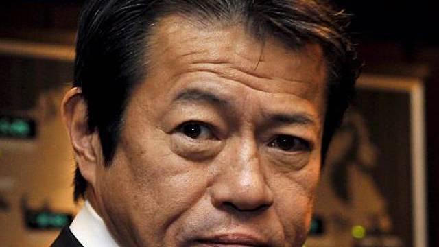 Der japanische Finanzminister Nakagawa