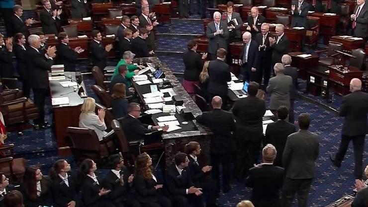 """Der US-Senat will """"Obamacare"""" nicht komplett versenken."""