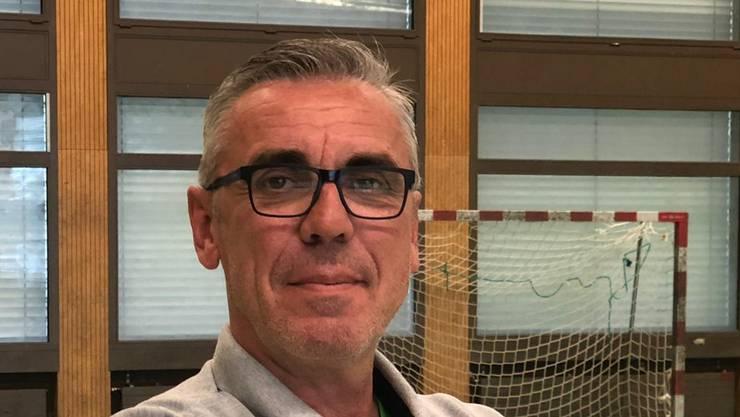 Der neue Trainer des Meisterteams U19 Elite der HSG Nordwest: Samir Sarac.