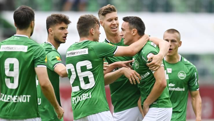 St. Gallen kehrt gegen Schlusslicht Thun zum Siegen zurück