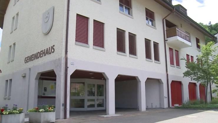 Das Gemeindehaus von Teufenthal. (Archiv)