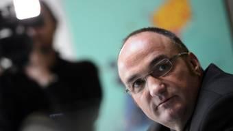 Der entmachtete SVP-Exekutivpolitiker Jean-Charles Legrix (Archiv)