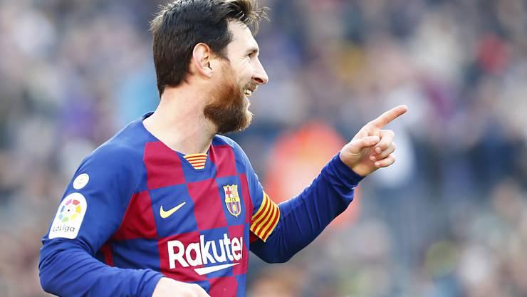 Lionel Messi hat gegen Eibar wieder zugeschlagen: vier Tore