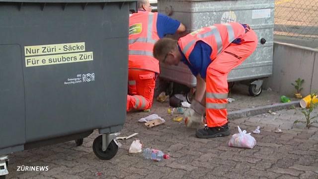 Offiziell bestätigt: Schwamendingen hat ein Abfall-Problem