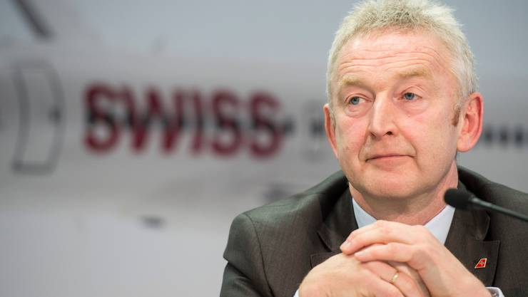 Thomas Klühr, Swiss-Chef, hat trotz guten Gewinnzahlen derzeit grosse Sorgen.