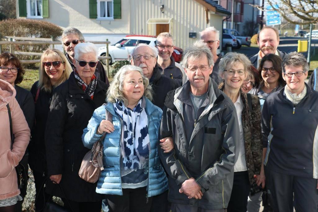 ...mit seiner Frau und vielen Freunden. (© FM1Today/Nina-Lou Frey)