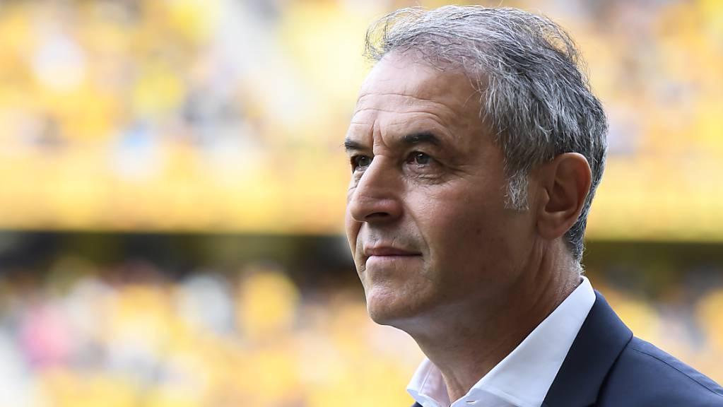 Marcel Koller konnte sich im gelbschwarzen Stade de Suisse gehaupten