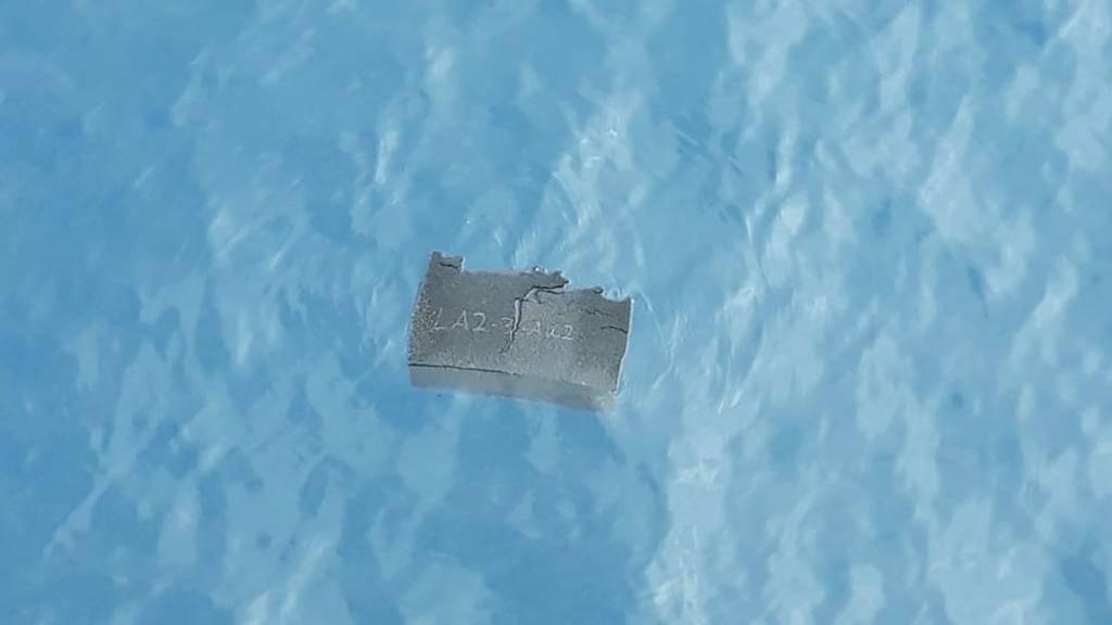 Überreste von chilenischem Flugzeug aus Meer geborgen