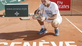 Kehrt nach seinen zwei Siegen in den letzten beiden Jahren ans Geneva Open zurück: Stan Wawrinka