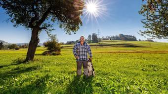 Bekam unangenehme Post von der Gemeinde: Landwirt Markus Glaus, der seit Jahren Fahrende auf seinem Grundstück wohnen lässt.