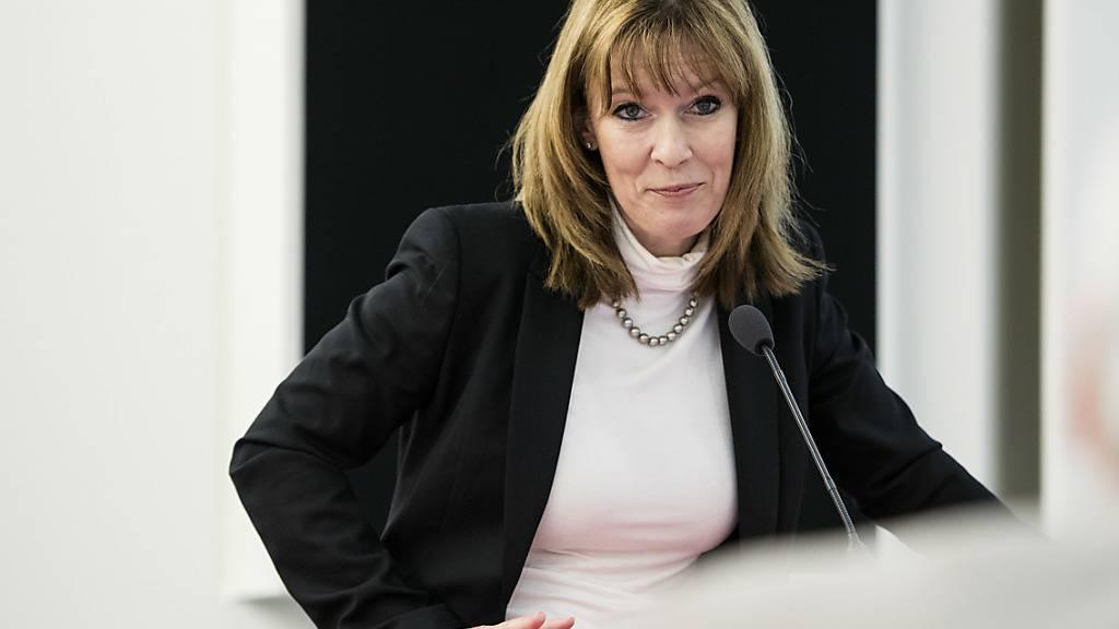 Michèle Rodoni wird Anfang 2021 die Leitung bei der Mobiliar übernehmen. Sie folgt auf den abtretenden CEO Markus Hongler.(Archivbild)