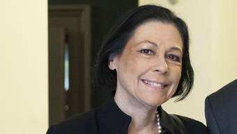 Erhielt durchzogenes Zeugnis der  Bundesrichter: Sylvia Frei, Präsidentin Bundesstrafgericht.