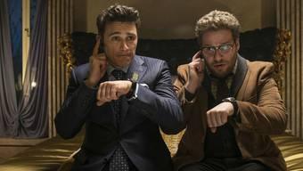 Vorerst gibt es die Komödie«The Interview» nicht zu sehen. Nach Terrordrohungen rückte Sony davon ab, den Film in die Kinos zu bringen.