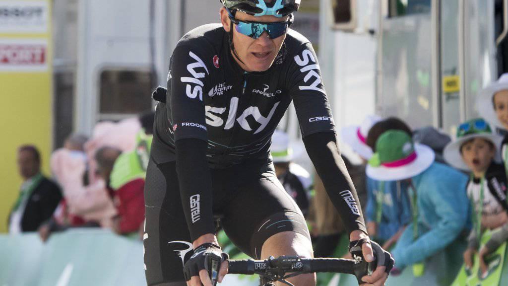 Chris Froome stand zuletzt an der Tour de Romandie im Einsatz