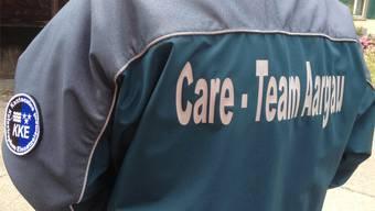 Die Jacke des Care Team Aargau ist ein wichtiger Bestandteil der Care Giver.
