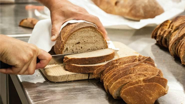 25 Kilo Brot wurden pro Tag verbraucht.