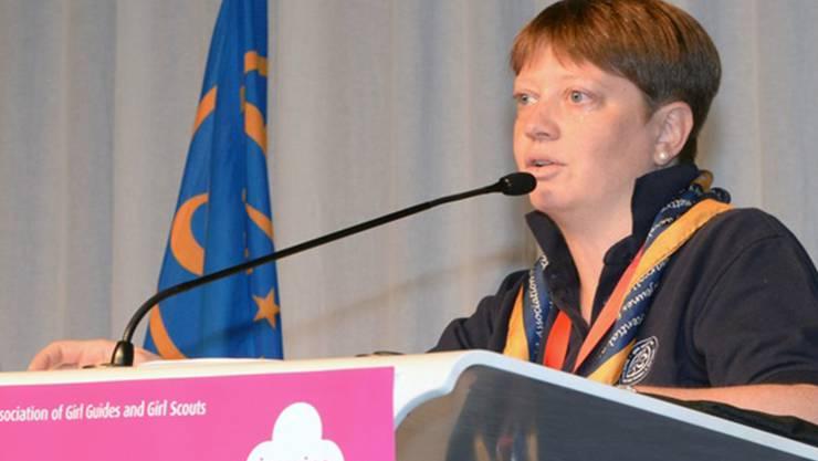 Corinna Hauri vertritt die Interessen von 1,2 Mio. Pfadfinderinnen. ZVG