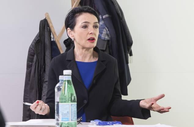 Marianne Binder: «Man muss die Bevölkerung von Anfang an mitnehmen, sonst gibt es ein Debakel wie beim EWR.»
