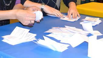 Das Aargauer Volk soll die Mitglieder der Kantonsregierung auch in Zukunft nach dem Mehrheitswahlverfahren (Majorz) bestimmen. (Symbolbild)