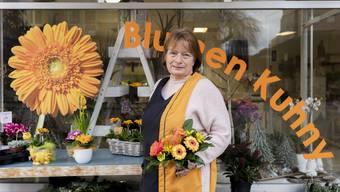 Die Kirchstrasse heute Kuhnys Blumengeschäft