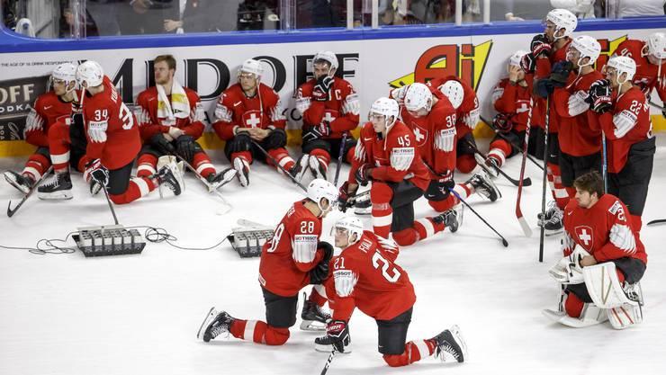 Es war so knapp: Die Schweiz verliert im Penaltyschiessen gegen Schweden.