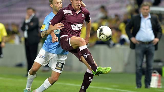 Geoffrey Treand erzielte für Servette das 1:0 gegen Winterthur.