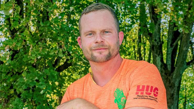 Samuel Bürgin ist OK-Chef der Waldtage in Rünenberg.