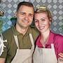 Florian Woitaske und Christine Günther wollen mit ihrer gesunden Ess-Oase den Alltag am Bahnhof Aarau entschleunigen.