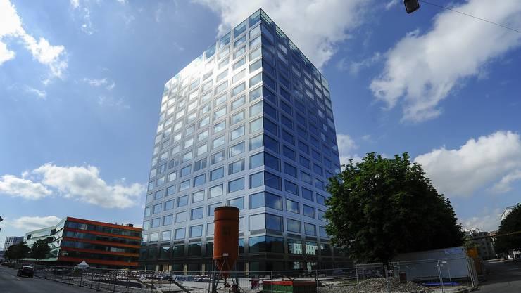 Das fast fertige neue Biozentrum in Basel.