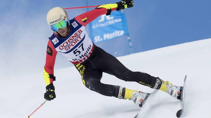 Der Belgier Dries van den Broecke konnte Marcel Hirscher im Teamevent besiegen: «Unglaublich! Seite an Seite mit dem Besten zu fahren, verlieh mir Flügel. Ich fuhr Ski wie er, wie ein Weltmeister.»