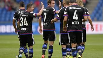 Nach drei Runden noch makellos: Titelverteidiger Basel