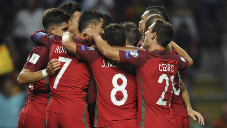 Souveräner Sieg: Portugal bleibt der Schweiz in der WM-Qualifikation an den Fernsen